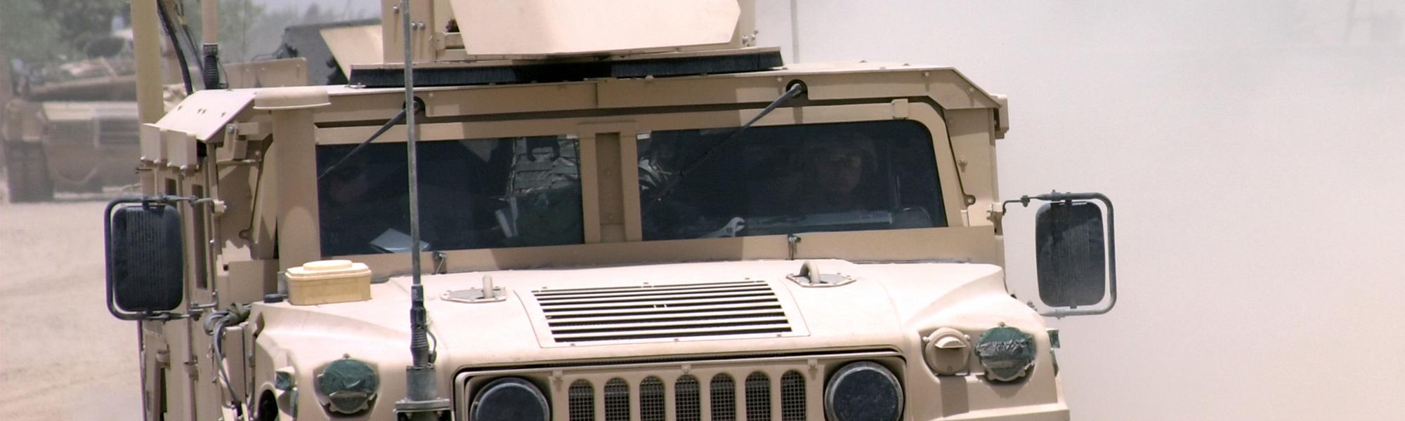 Ground Image - Humvee desert