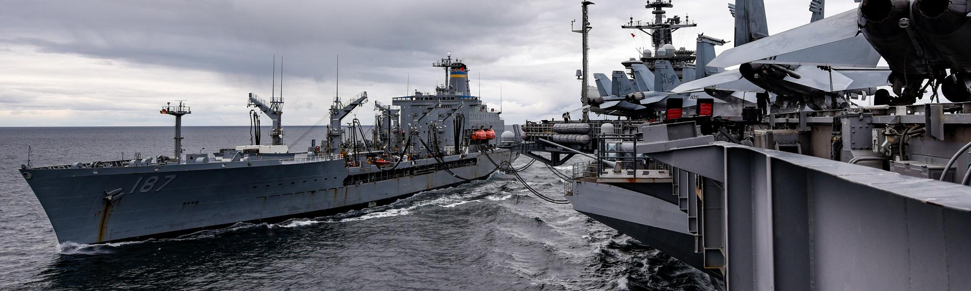 Navel Image - Resupply Ship