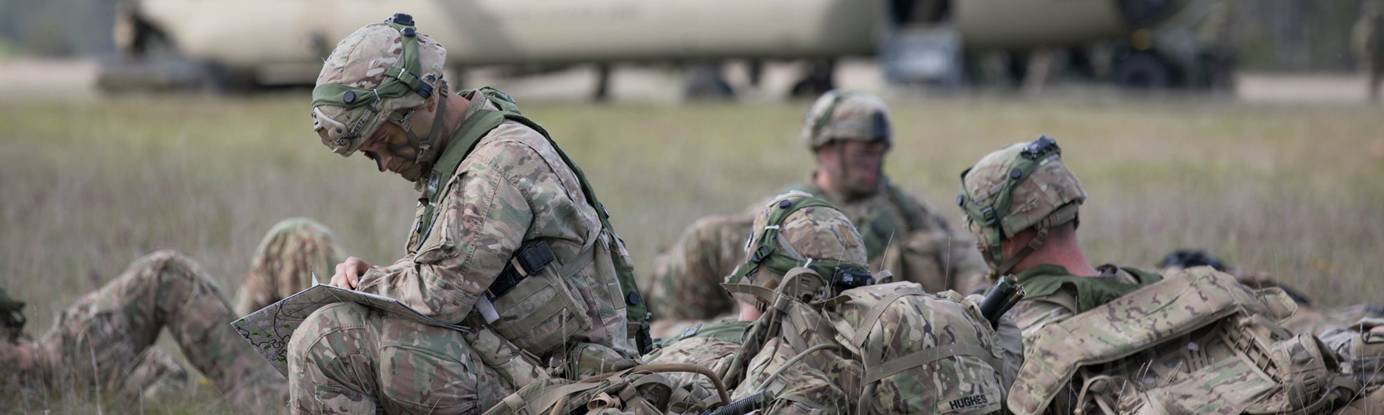 Ground Image - Soldiers sitting