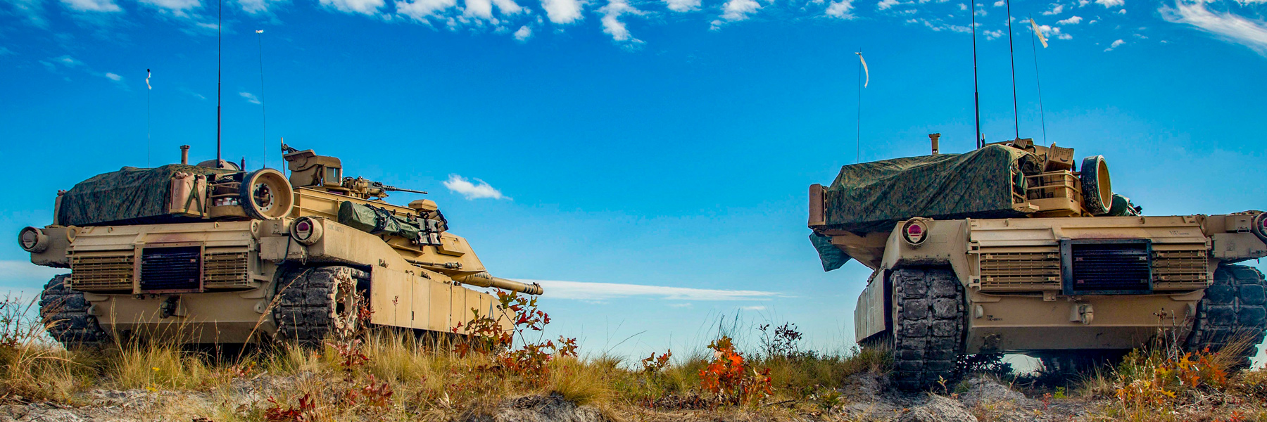 Ground Image - Tanks on hill