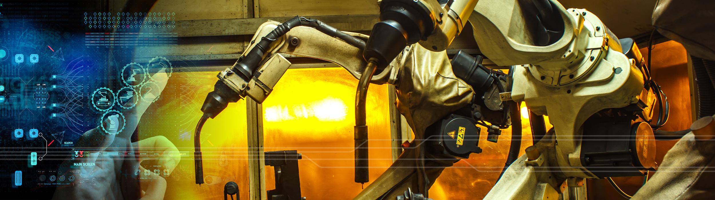 Industrial Robot Slider Image